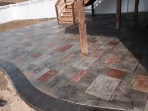 color concrete patio multi color sted concrete patio blackwater concrete