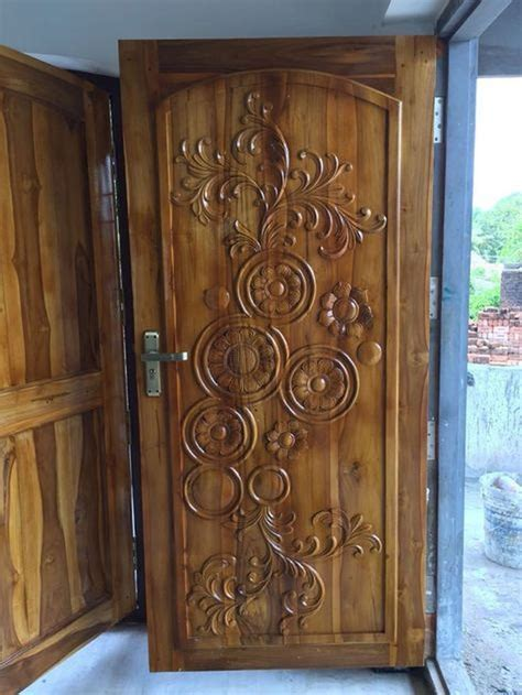 awesome  artistic wooden door design ideas