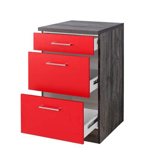 küchen schubladen unterschrank rot bestseller shop f 252 r m 246 bel und einrichtungen