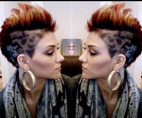 haircuts and more fontana ca 11 hele pittige faux hawk haarstijlen voor dappere dames