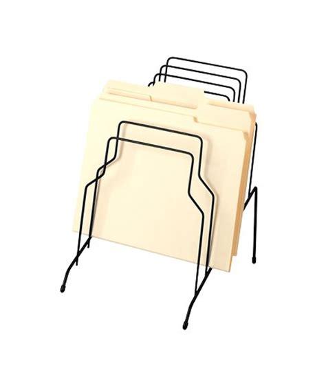 wire file holder desk fellowes wire step file organizer 8 tier black 72614