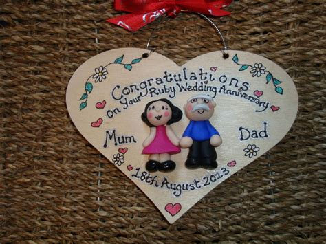 Personalised Handmade Gifts - 2 character 3d s day wedding anniversary