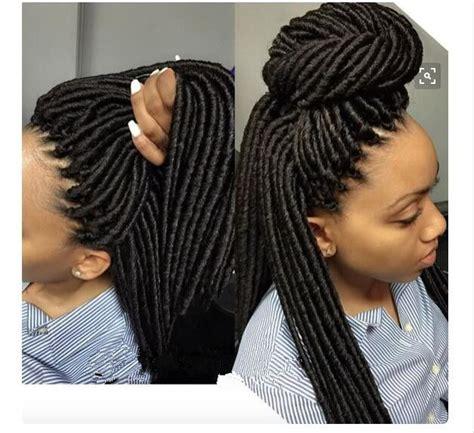 Crochet Dreads Hairstyles   havana mambo crochet faux locs braids 14 quot havana mambo