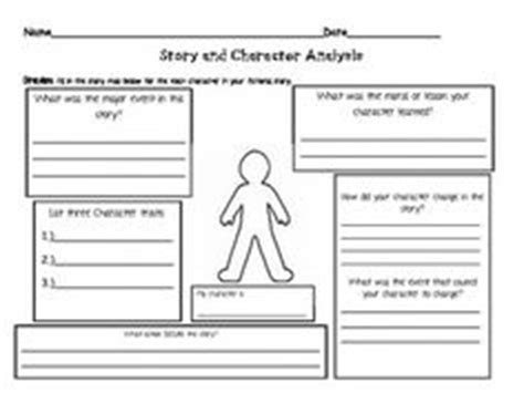 Character Letter Writing Rubric 1000 Images About Reading Skill Characters On Character Trait Graphic Organizers