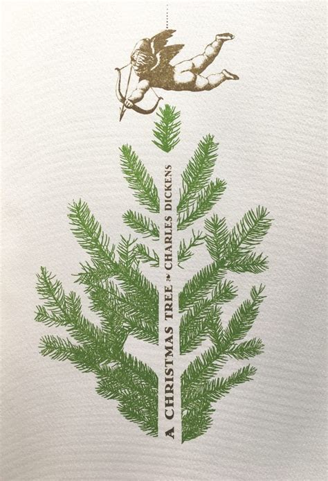 shelf life a christmas tree by charles dickens 21xdesign