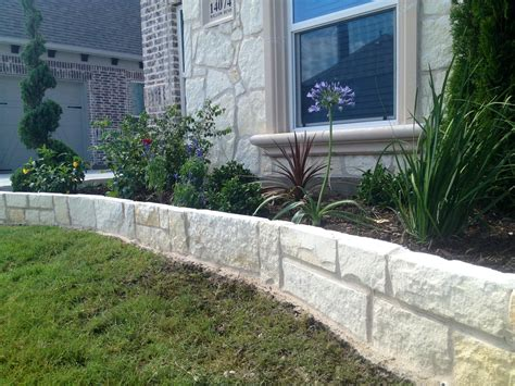 flower bed edging stone stone edging update frisco richwoods lexington frisco phillips creek ranch