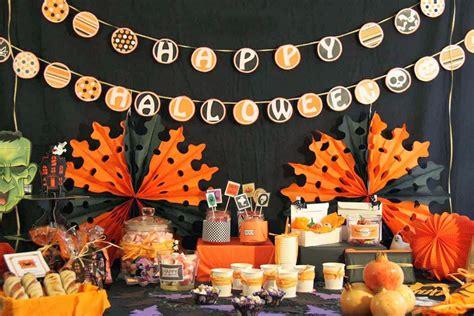 imagenes decoracion fiesta halloween la petite maison candy bar de halloween