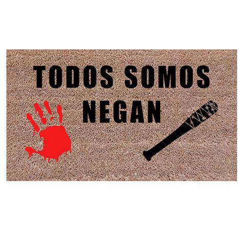 felpudo flamenco felpudos originales todos somos negan