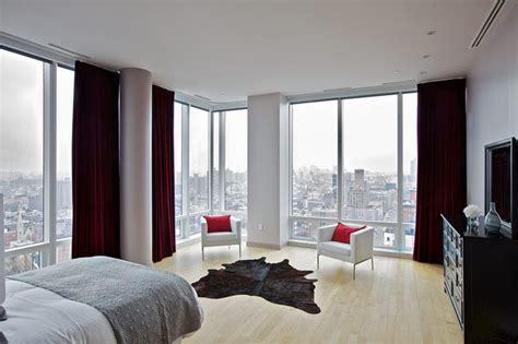 chelsea duplex penthouse contemporary bedroom  york  marie burgos design