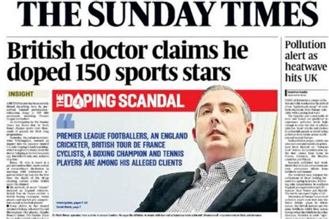 cadenas internacionales en ingles escand 225 lo por doping la sombra del dopaje se cierne sobre