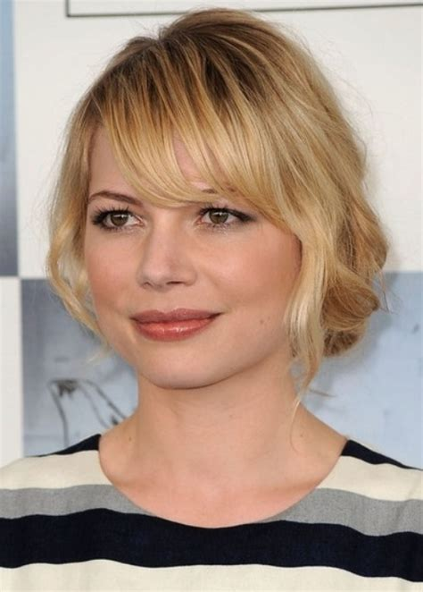 short hair for round faces in their 40s 40 classic short hairstyles for round faces