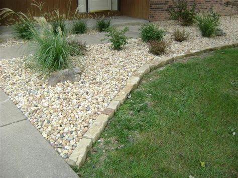 flower bed edging stone stone edging for flower beds images of mulch