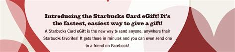 Send Starbucks Gift Card Via Facebook - apple thoughts news reviews on all things apple