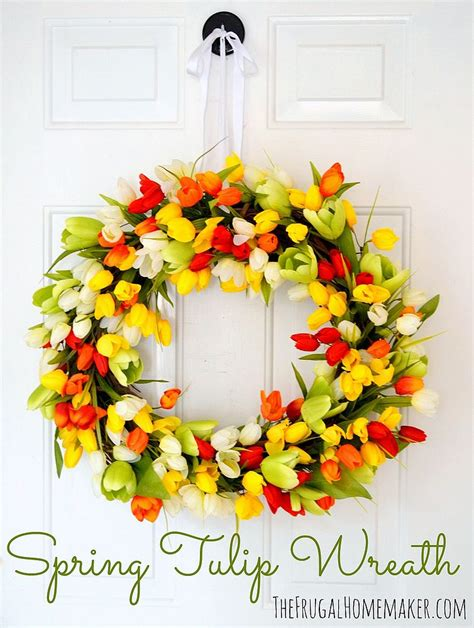 spring wreaths diy 10 stunning spring wreaths to diy this weekend huffpost