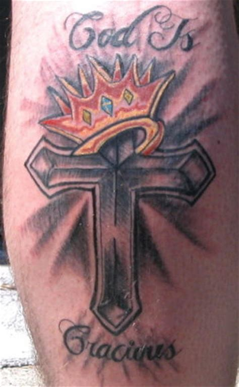 crown and cross tattoos cross crown and wings across the chest serbagunamarine