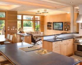 Family Kitchen Design kitchen and family room layouts houzz