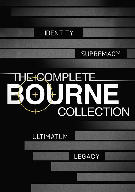 The Bourne Collection | Movie fanart | fanart.tv