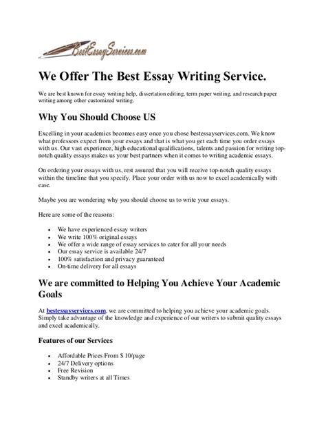 best essay writing service the best essay writing service
