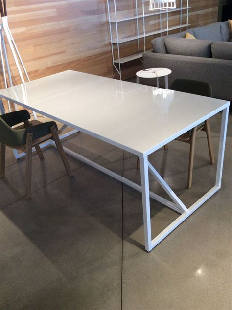 Lg Blu Dot Strut Table In White Work Table Or Dining Dot Strut Dining Table