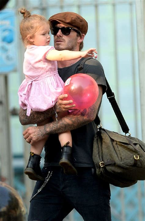 Its Beckham Tuesday Time by Beckham Mixes Fashion Trends On Play Date With