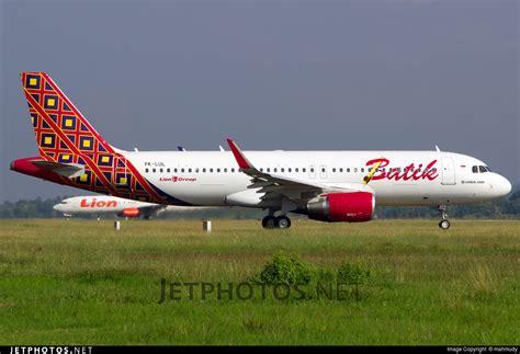 Batik Air Sub Upg | pk lul airbus a320 214 batik air mahmudy jetphotos