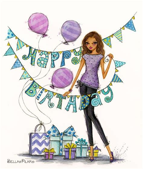 imagenes de happy birthday leslie 450 best bella pilar drawings images on pinterest