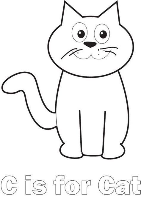 millions of cats coloring pages preschool themes for the letter c our country road