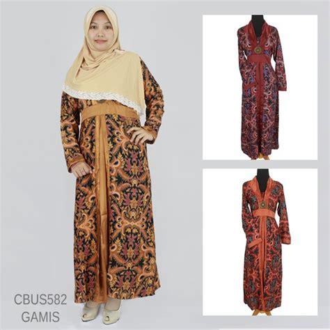 Gamis Batik Semi Sabuk sarimbit gamis semi motif jokowi gamis batik murah