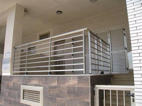 barandillas aluminio barandilla aluminio con barrote horizontal lubatecnic s l
