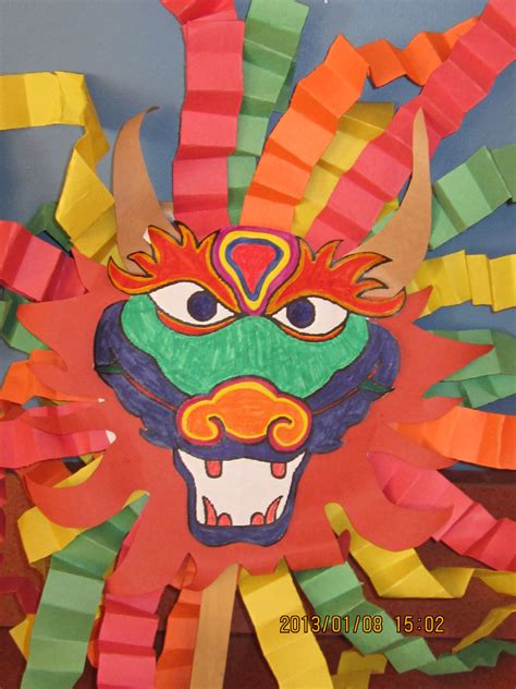new year mask lesson mask for new year st louis library