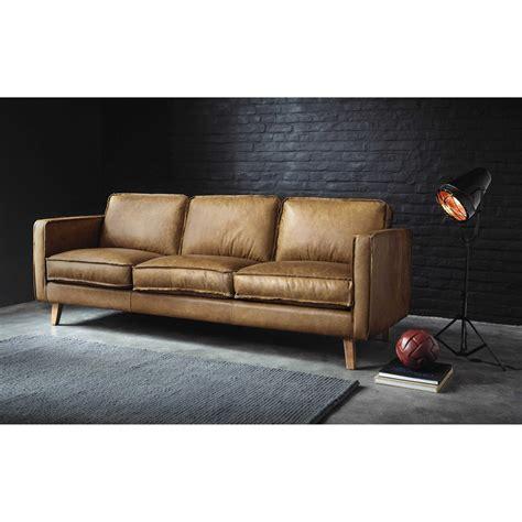 divani in cuoio divano vintage in cuoio color cammello 3 posti