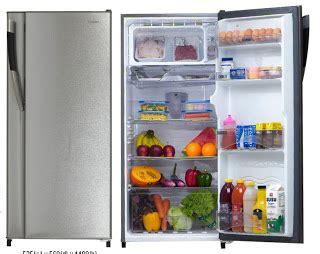 Daftar Lemari Es Sharp Samurai daftar harga kulkas lemari es1 pintu sharp bulan april