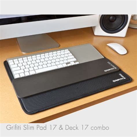 lap desk for keyboard and mouse grifiti platform slim wrist pad 17 combines deck 17 lap