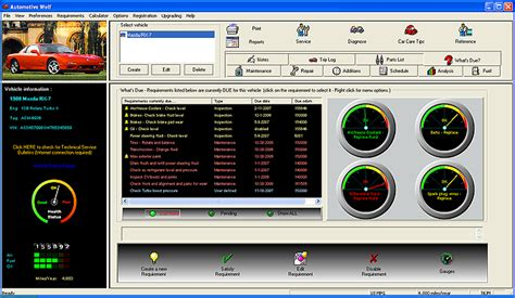 car care software contact management address book