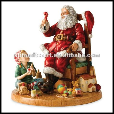 resin santa claus figurine christmas decoration buy