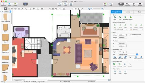 how to do a floor plan in word add a floor plan to ms word conceptdraw helpdesk