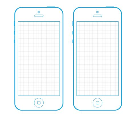 Iphone 5 Wireframe Template For Your Next Project Wireframe Template And Ui Ux Iphone Layout Template