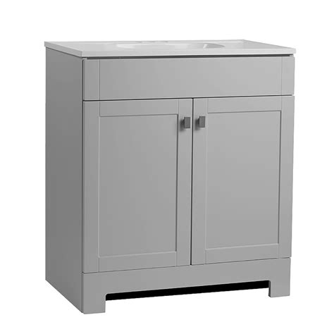 60 inch bathroom vanity cheap middle drawers grey double