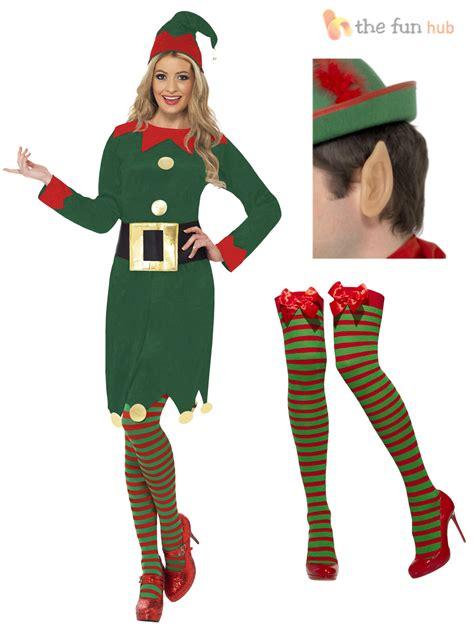 real santa costume costume santas helper womens