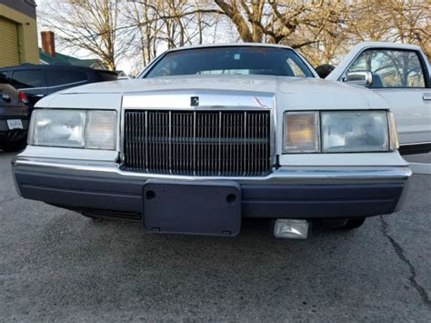 mk7 lincoln 1990 lincoln mk7 lsc 2 door leather clean southern car no