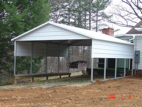 Aluminum Car Port by Carport Metal Portable Carports