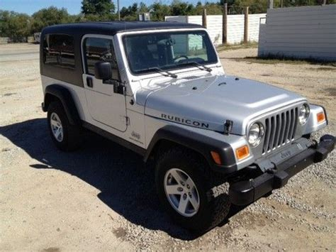2 Door Jeep For Sale by Buy Used 2006 Jeep Wrangler Unlimited Rubicon Sport