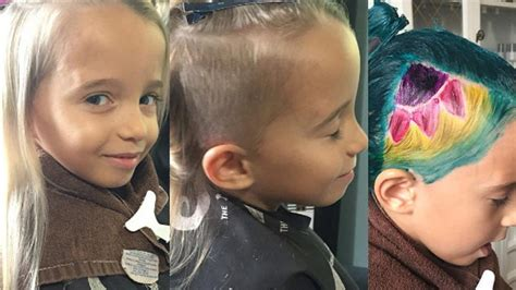 Unicorn hair: Saying yes, or no, to your kid?s hairstyle   KXAN.com