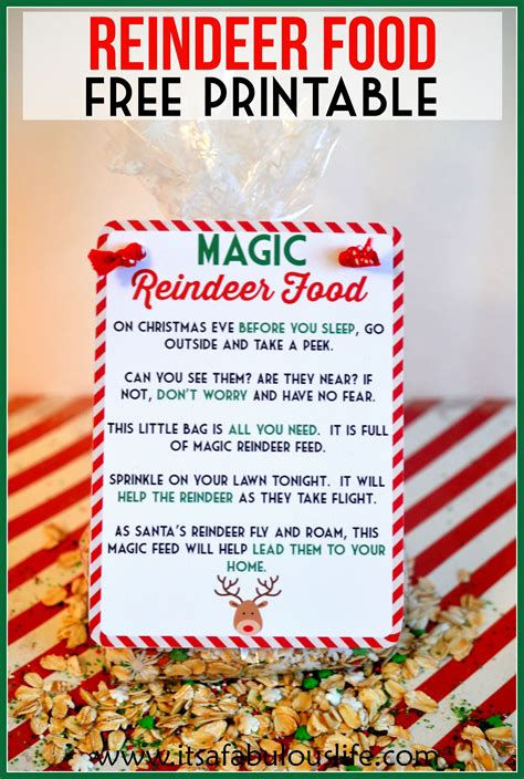 printable reindeer food directions alcohol inks on yupo reindeer food poem magic reindeer