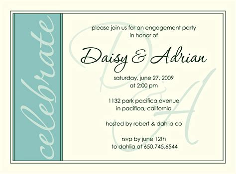 engagement invitation templates free engagement invitations engagement invitation