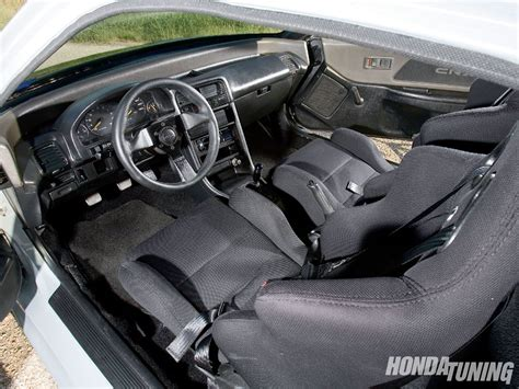 Honda Crx Interior by 1991 Honda Crx Si Hasport Engine Mounts Honda Tuning
