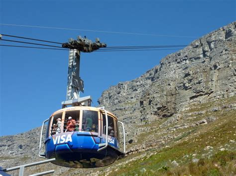 table mountain cable car cable car up table mountain photo