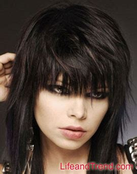 emo layered hairstyles for medium length hair pictures