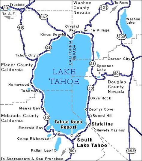 california map lake tahoe 25 best ideas about lake tahoe map on lake