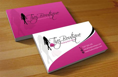 fashion design business cards templates free boutique business cards 21 professional boutique business